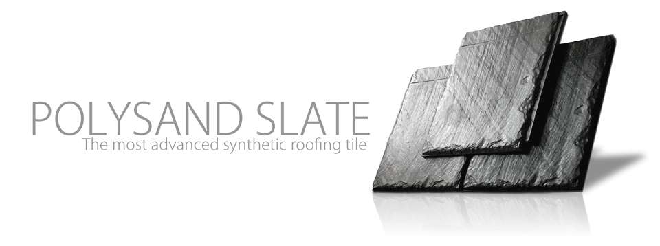 Polysand synthetic Slate Roofing Tile