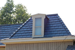 Polysand Slate Roofing Tile.